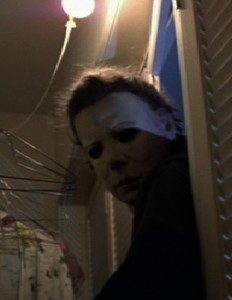 James Winburn was stunt double to Nick Castle as Michael Myers in Halloween