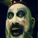 Sid Haig is Captain Spaulding in Rob Zombie's House of 1000 Corpses and The Devil's Rejects