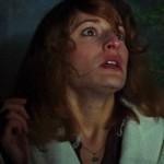 Terrorized by trees: Ellen Sandweiss fears for her life in The Evil Dead