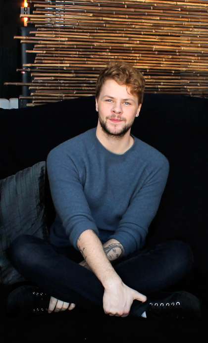 Jay McGuiness is photographed by Danielle Bedard for marcandrew.ca ©marcandrew.ca