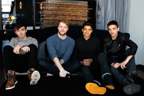 The Wanted is photographed by Danielle Bedard for marcandrew.ca ©marcandrew.ca