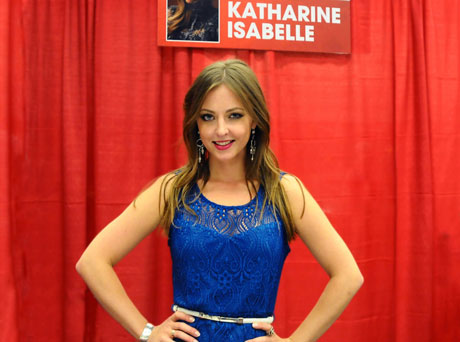 Katharine Isabelle of Hannibal, American Mary, Freddy vs. Jason & Ginger Snaps at the Montreal Comiccon ©marcandrew.ca