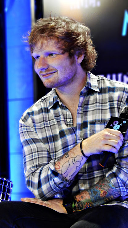 Ed Sheeran is photographed by Marc Andrew backstage at the MuchMusic Video Awards ©marcandrew.ca