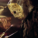 Ken Kirzinger faces off with Robert Englund in Freddy vs. Jason.