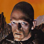 The iconic Michael Berryman pictured in Wes Craven's 1977 cult classic The Hills Have Eyes and its sequel.