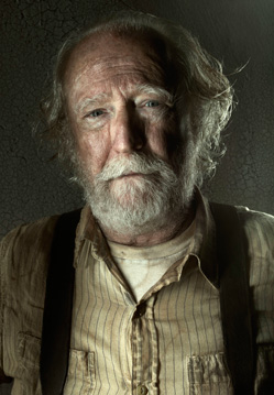 Scott Wilson as Hershel Greene in AMC's The Walking Dead.