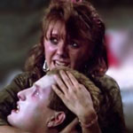 Beverly Randolph is Tina in The Return of the Living Dead.