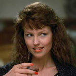 Deborah Foreman plays the dual role of Buffy and Muffy in April Fool's Day.
