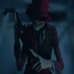 Javier Botet haunts Patrick Wilson & Vera Farmiga as The Crooked Man in The Conjuring 2.
