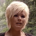 American Idol top 10 finalist Kimberly Caldwell plays herself, a reality show contestant, in Wrong Turn 2.