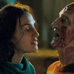Lisa Zane faces off with Robert Englund's Freddy Krueger in Freddy's Dead: The Final Nightmare.