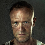 Michael Rooker is Merle Dixon in The Walking Dead.