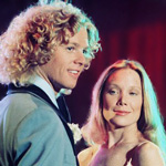 William Katt and Sissy Spacek are prom king and queen in Stephen King's 1976 classic Carrie.